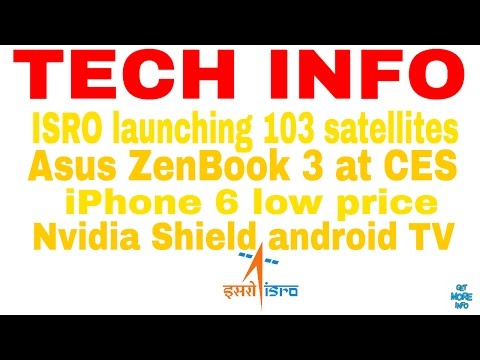 Tech Info#2(hindi): iPhone 6 price,Asus ZenBook 3 CES 2017, Nvidia Shield TV,Vodafone contract
