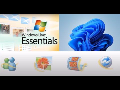Truque: Windows Live Essentials no Windows 10 ~ 2018 *noAds