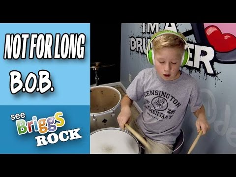 Not For Long B.o.B. Trey Songz Drum Cover