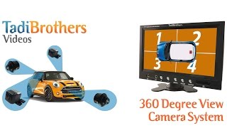 360 Degree Camera System for a Car or Truck from www.tadibrothers.com