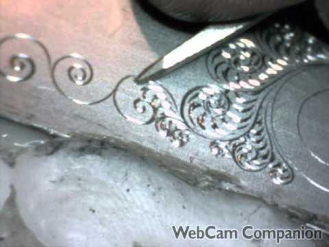 Gun Engraving Practice Breaking The Tip by Shaun Hughes