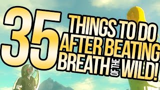 35 Things To Do Post-Story in Breath of the Wild | Austin John Plays The Legend of Zelda