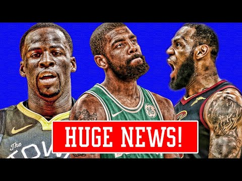 KYRIE LEAVING BOSTON!? DRAYMOND TRADED TO GET LEBRON! CAVS WOULD BE UP 3-0! | NBA NEWS