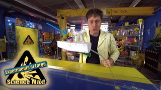 Science Max   BUILD IT YOURSELF   GRAVITY-Powered Boat  EXPERIMENT