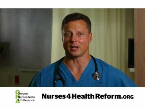 Oregon Nurses Association Makes A Difference in Health Care Reform Spot 2