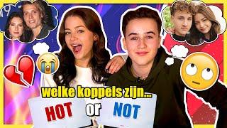 NIELS WORDT GEK VAN STEFANIA & JANNES!! | HOT OR NOT