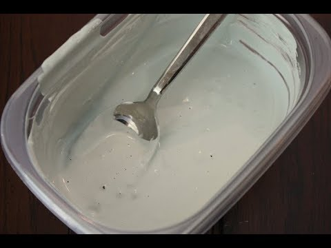 GESSO PRIMER-HOW TO MAKE/PREPARE GESSO ON CANVAS AT HOME-WITH ONLY 4 INGREDIENTS IN SIMPLE PROCESS