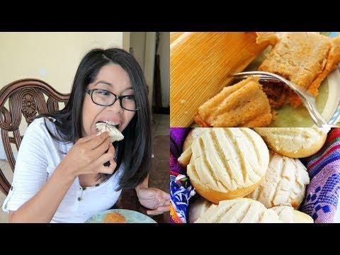 TAMALES AND PAN DULCE | EATING SHOW (MUKBANG) | WATCH ME EAT