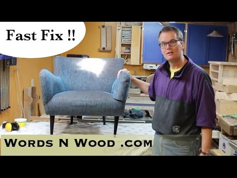 Quick Fix Chair Repair  (WnW #47)