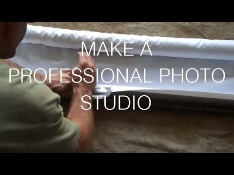 How-to Make a Professional Photo Studio in Your Garage