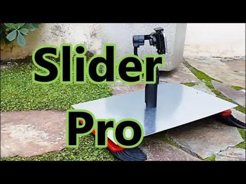 UNICO Slider  travelling  gimbal funcuina en cualquier superficie.