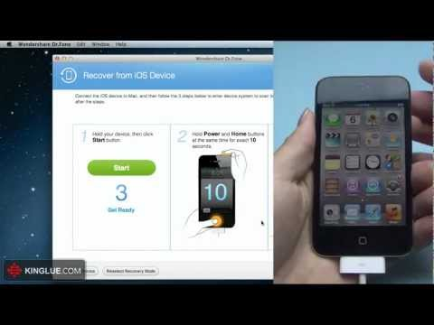 How to Recover Deleted & Lost Notes Directly from iPod touch 4 on Mac?