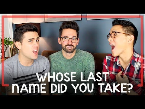 Whose Last Name Did You Take (With Special Guest Hank Chen)