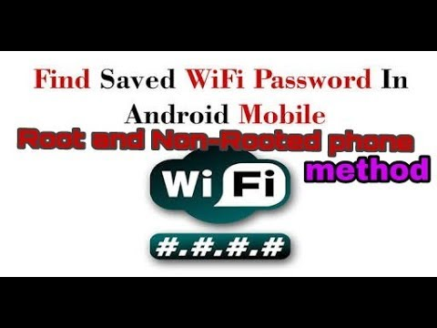 How to view saved WiFi password in android phone without Root and Root method.|| Easy method (Hindi)