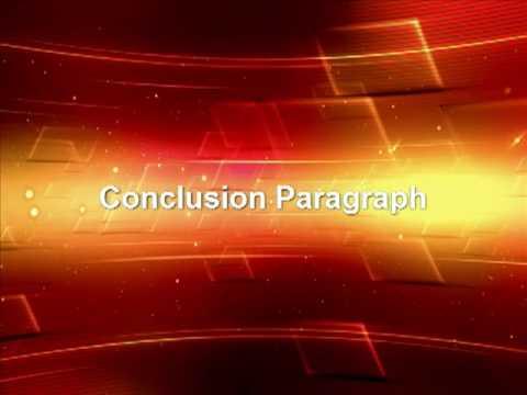 English Essay Formula: Conclusion Paragraph