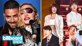 Best Moments from 2019 BBMAs: BTS, Taylor Swift, Mariah Carey, Madonna & More! | Billboard News