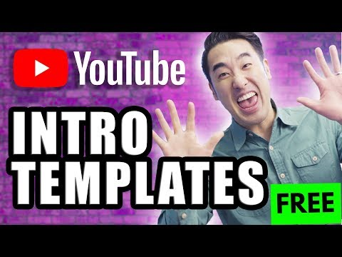 How to Make a YouTube Intro + 10 FREE YouTube Intro Templates!