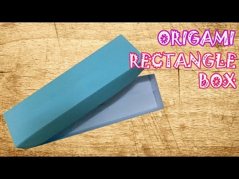 Origami Rectangle Box - Origami Easy