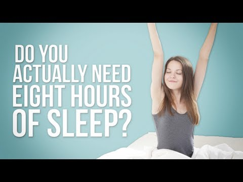 Health Decoder - Do You Really Need Eight Hours of Sleep?