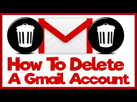 How To Permanently Delete Your Gmail Account - Gmail Tutorial