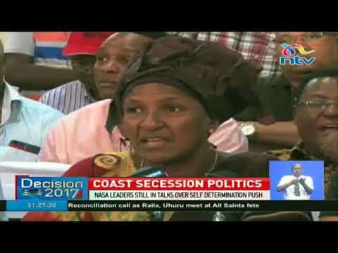Coast jubilee party members react against self determination