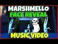 Marshmello Face Reveal Animation Music Video