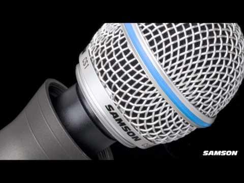 Samson CS Series Mic - Capsule Select Microphone