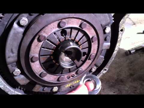 Removing a Mini Cooper Verto Flywheel Part 1 of 4