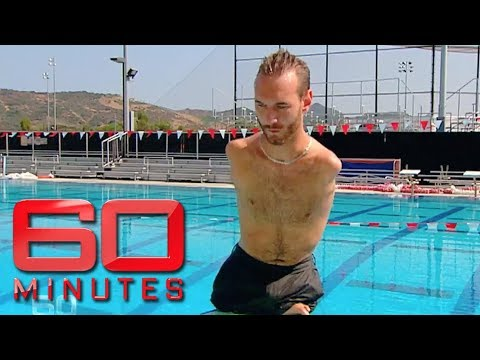 Xxx Mp4 Inspiring Man Born Without Arms Or Legs Nick Vujicic 60 Minutes Australia 3gp Sex