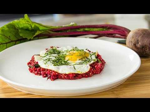 Seamus Mullen's Savory Porridge with Millet and Beets