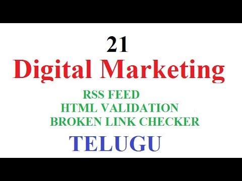 Digital Marketing Class  Telugu 21 public | RSS Feed | HTML Validation | Broken Link Checker