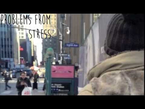 stress amongst college students animation