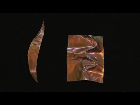Peanut Oil Patina for Copper