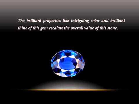 Value of Kashmir Blue Sapphire Gemstone