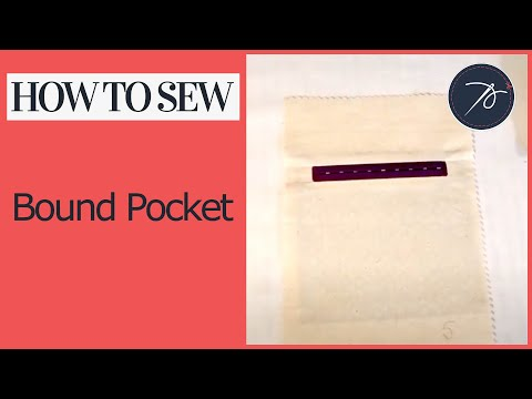How to create a Bound Pocket
