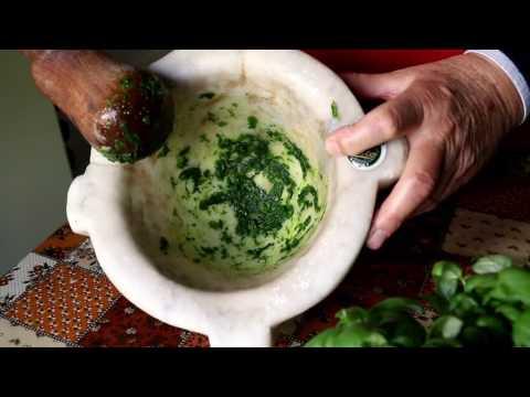 How to Make the Perfect Pesto   Pasta Grannies