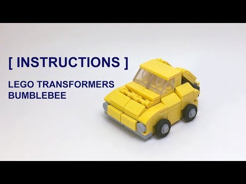 How to build Lego Transformers Mini Bumblebee