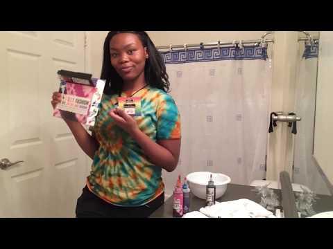 HOW TO MAKE THE BEST SPIRAL TIE DYE SHIRT!   ALEXIA LAKENYA