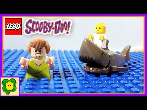 Lego Shark Attack | Scooby Doo Stop Motion Animation