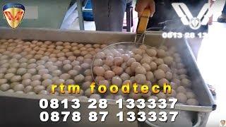 MESIN PENCETAK BAKSO PENCETAK PENTOL BAKSO HASIL PULUHAN RIBU BUTIR | Mesin Produksi Bakso Giling