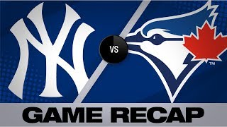 Bichette wins it with walk-off HR in 12th   Yankees-Blue Jays Game Highlights 9/13/19