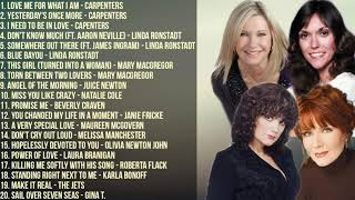 The Best of Carpenters, Linda Ronstadt, Maureen McGovern, Natalie Cole & More   Non-Stop Playlist