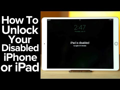 How to unlock your iPhone or iPad!
