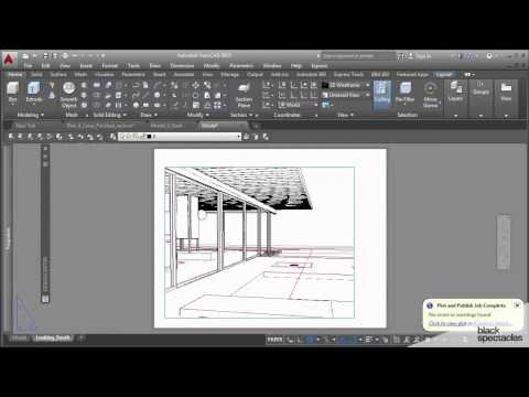 Print your 3D View to PDF and open in Illustrator - AutoCAD 2015 Conceptual and Schematic Design