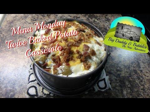Menu Monday - Instant Pot Twice Baked Potato Casserole