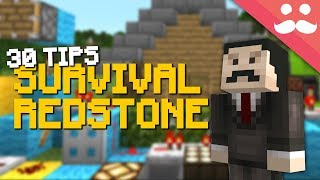 How to do Survival Redstone in Minecraft 1.14