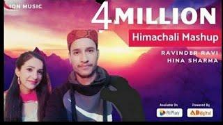 Himachali Mashup (15 SONGS 1 BEAT ): Ravinder Ravi   Heena Sharma   Aitbaar   AD Digital