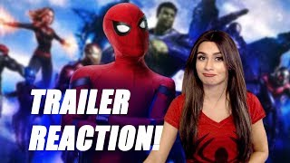 Download SPIDERMAN: FAR FROM HOME TRAILER REACTION! Video
