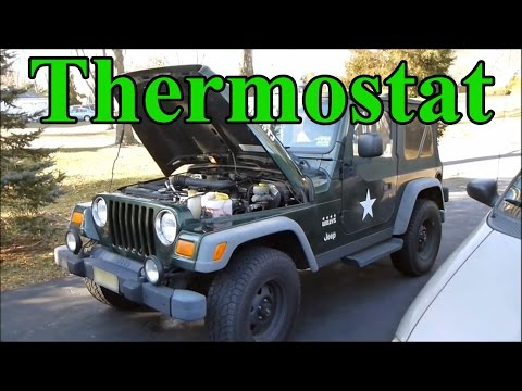 How To Change the Thermostat in a Jeep Wrangler