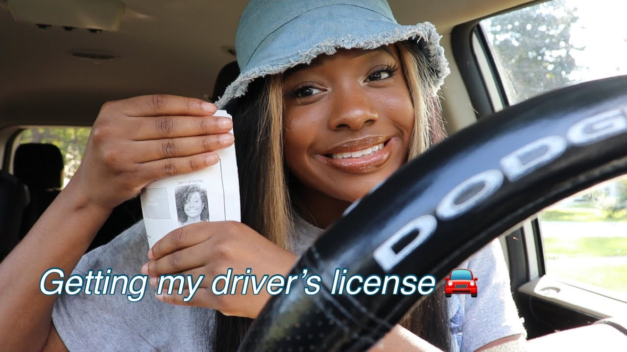 VLOG: Getting my driver's license @ 20